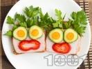 Рецепта Детски сандвич Кокона